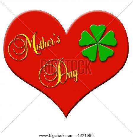 Mothers Day Clover Leaf