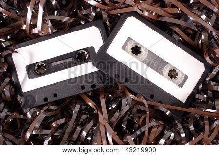 Photo of Audio cassettes