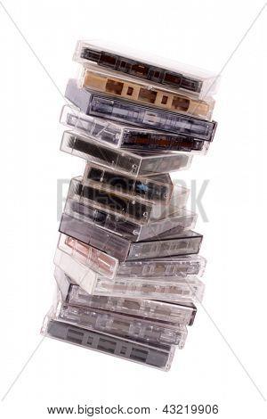 Photo of Audio K7 pile