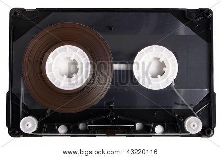 Photo of Inside audio cassette