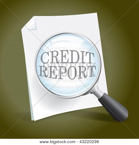Examining A Credit Report