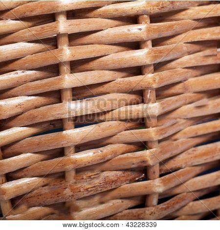 Cane Or Wickerwork Background