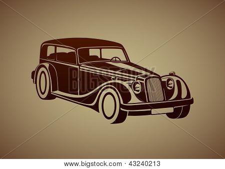 Sport classic automobile