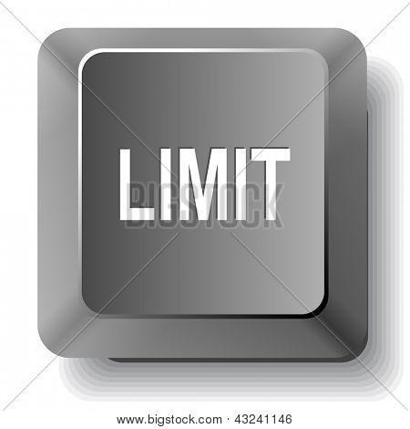 Limit. Raster computer key.