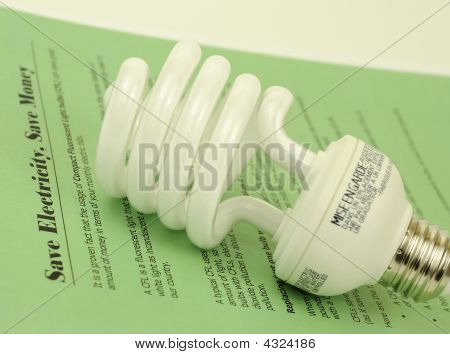 Save Electricity Using Cfl Bulbs