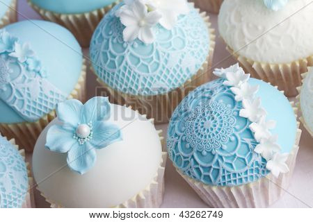 Hochzeit cupcakes