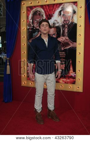 LOS ANGELES - MAR 11:  Sterling Beaumon arrives at the World Premiere of