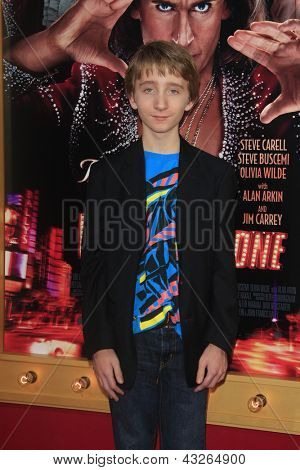 LOS ANGELES - MAR 11:  Luke Vanek arrives at the World Premiere of