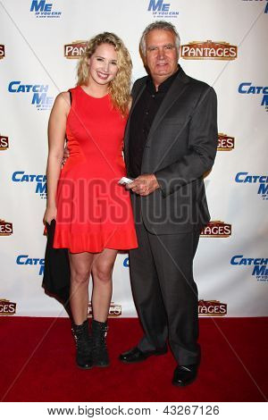 LOS ANGELES - MAR 12:  Molly McCook, John McCook arrive at the