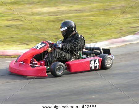 Red Go Kart