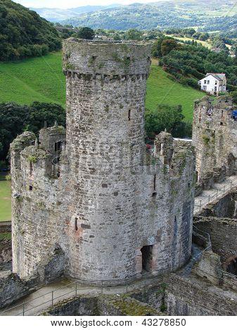 Conwy Castle, North Wales, United Kingdom