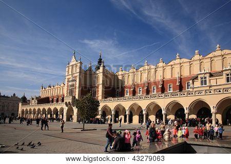 Cloth Hall, Krakow, Poland