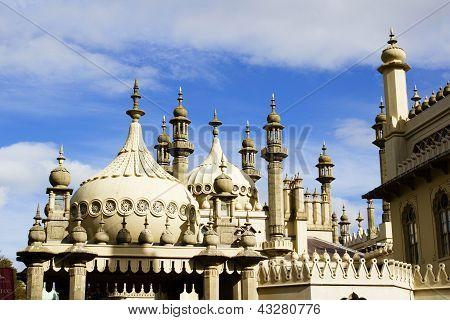 Brighton Pavillion Rooftops