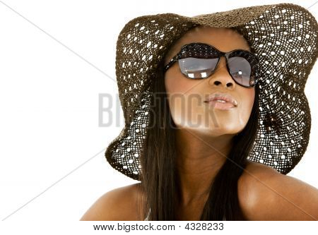 Fashion Girl Portrait - Sunglasses