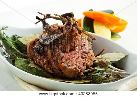Fillet of Veal with Vegetables