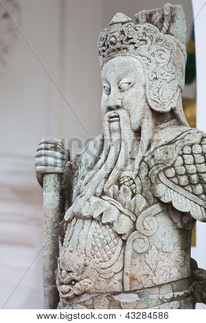 Chinese Giant Statue