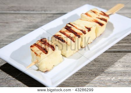 Cheese On A Skewer