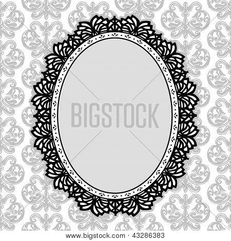 Vintage Lace kleedje Frame