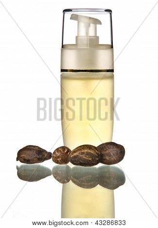 Cosmetic Oil Withe Shea Butter
