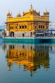 foto of harmandir sahib  - Sikh gurdwara Golden Temple  - JPG