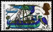 Britain Battle Of Hastings Postage Stamp