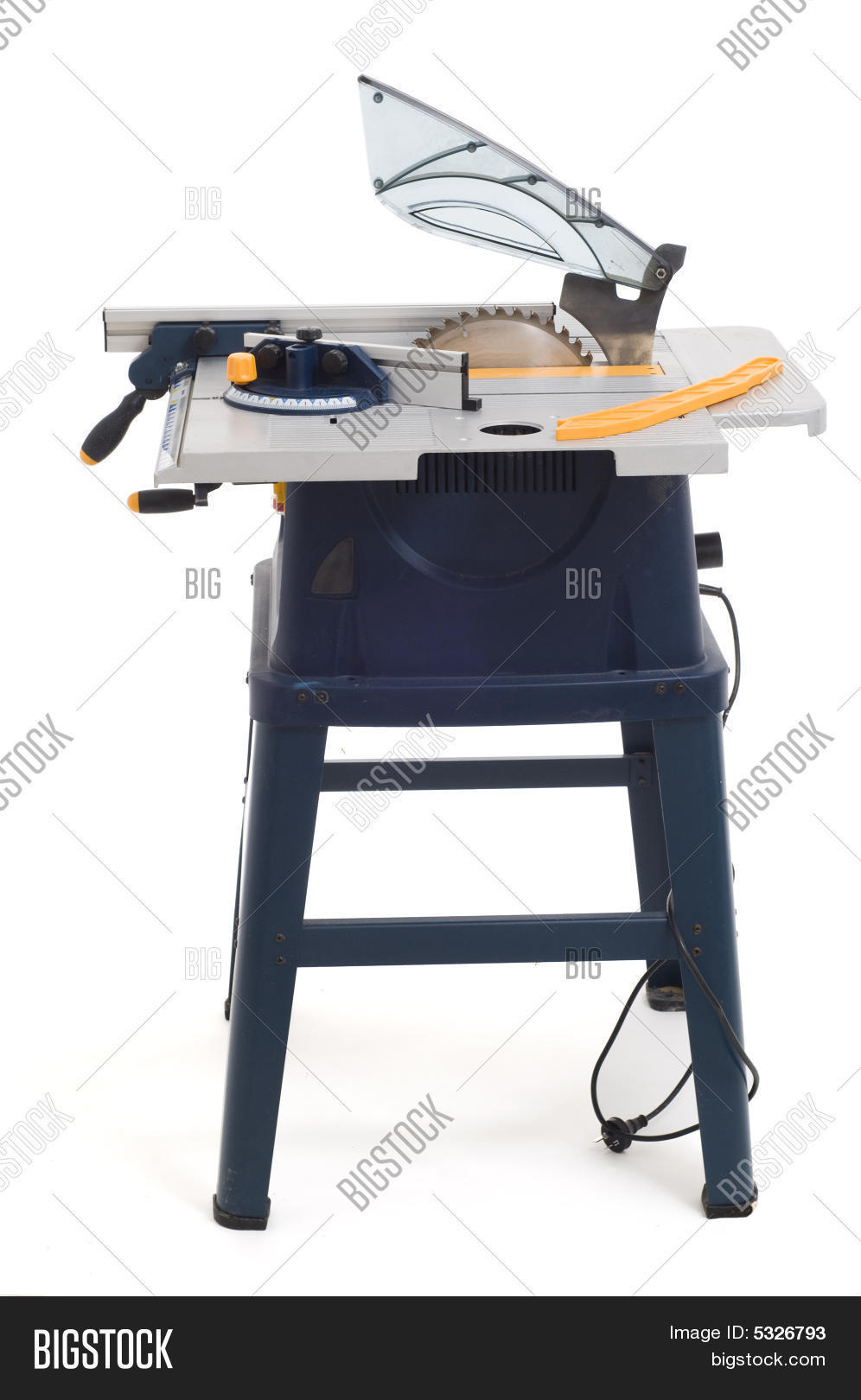 Circular Power Saw Table Image Photo Bigstock