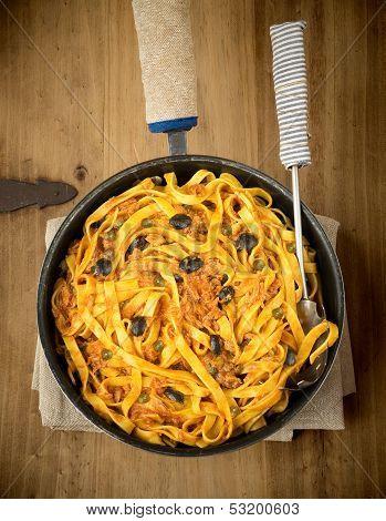 Fettuccini Alla Puttanesca.