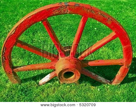 Wagon wheel.