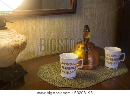 Grandparents Tea Time