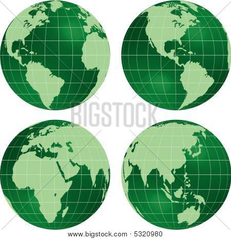 Green globes.