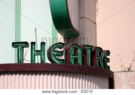 Theatre Neon Sign
