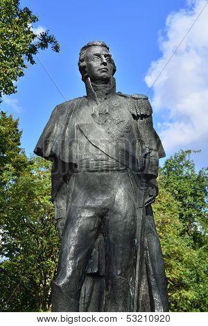 Monument To Mikhail Kutuzov. Kaliningrad, Russia