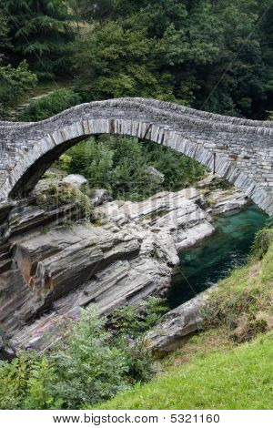Ancient Arch Stone Bridge