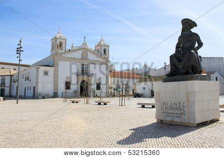 Praca Infante Dom Henriquie, Lagos, Portugal