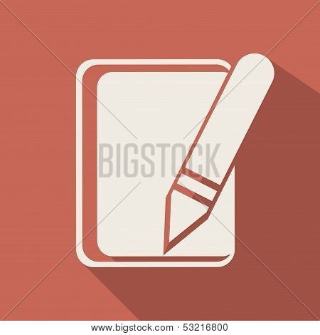 Notepad web icon