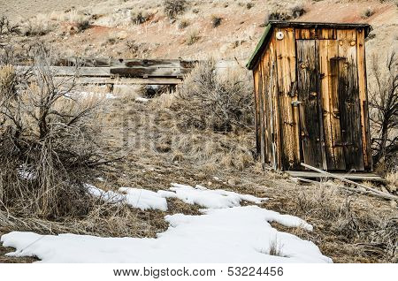 Outhouse With Electricity