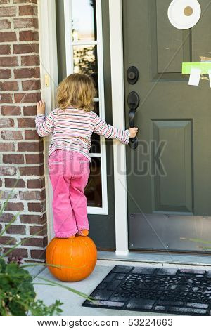 Anybody Home I'm Hoping To Get Some Candy Treat