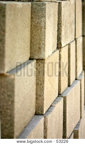Stacked Concrete Blocks