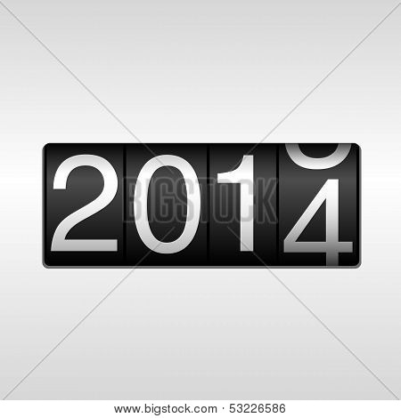 2014 New Year Odometer