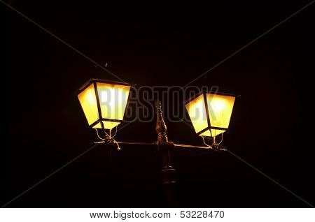 Street Lamp Night