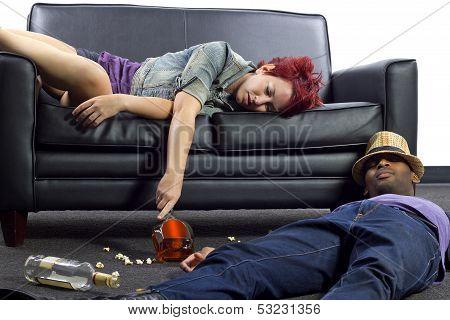Drunk Roommates