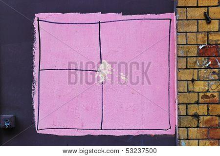 Pink Window
