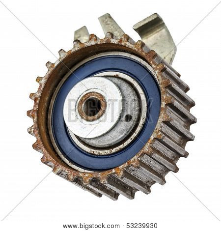 Worn Out Pulley Of Timing Belt
