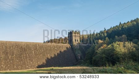 East Tower Of Derwent Dam