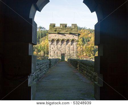 Tower Of Derwent Dam