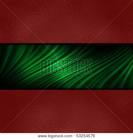 Merry Christmas Red And Green Background Texture