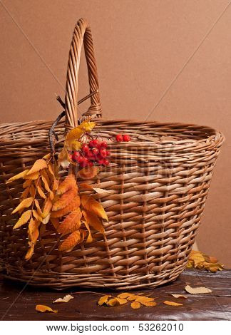Rowanberry And Basket