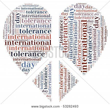 Tag Or Wor Cloud International Tolerance Day Related