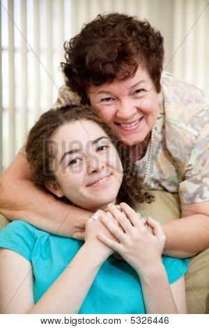Mom Loves Teen Daughter