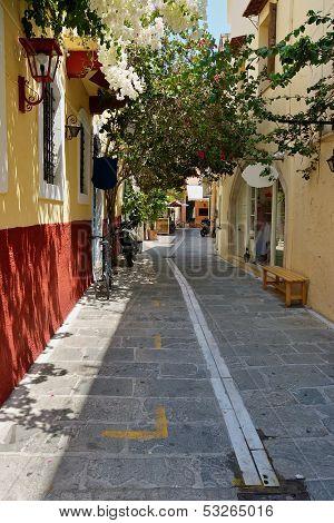 Rethymno. Crete, Greece